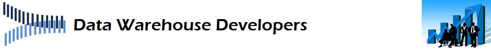 Data Warehouse Developers